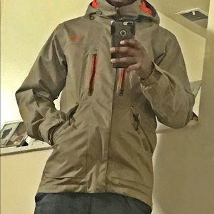 Slim fit North Face coat